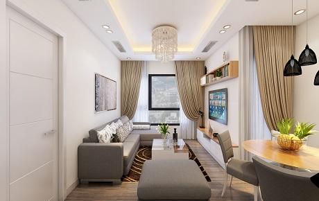 Thiết kế nội thất căn hộ 12B Park 1 Times City Park Hill siêu đẹp với gam màu sáng