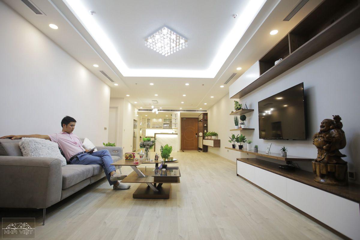 Thi công căn hộ cao cấp Vinhomes Nguyễn Chí Thanh - Căn 2202