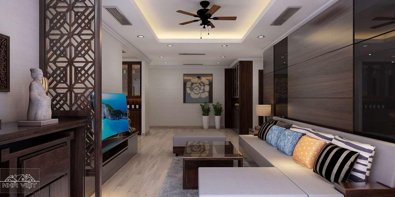 Phương án thiết kế căn hộ 12A Park 2 Times City đẹp cá tính