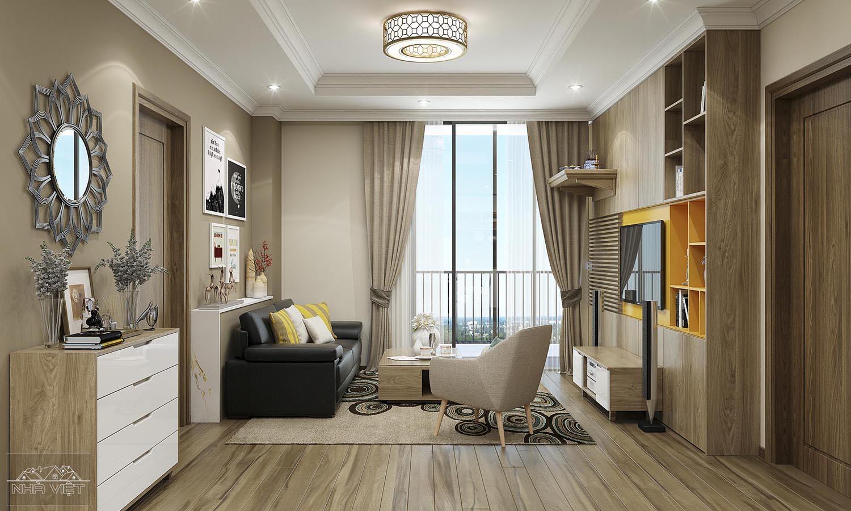 Thiết kế nội thất căn hộ 17 Park 2 – Times City Park Hill