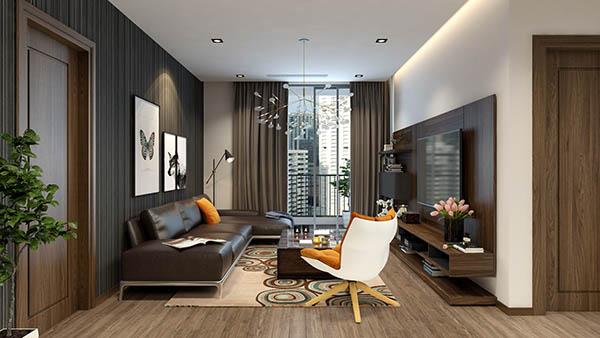 Thiết kế nội thất căn hộ 12A Park 5 – Times City Park Hill