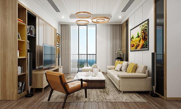 Thiết kế nội thất căn hộ 05 Park 6 – Times City Park Hill