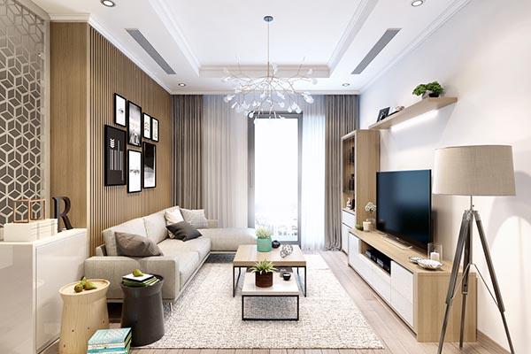 Thiết kế nội thất căn hộ 15 Park 2 – Times City Park Hill