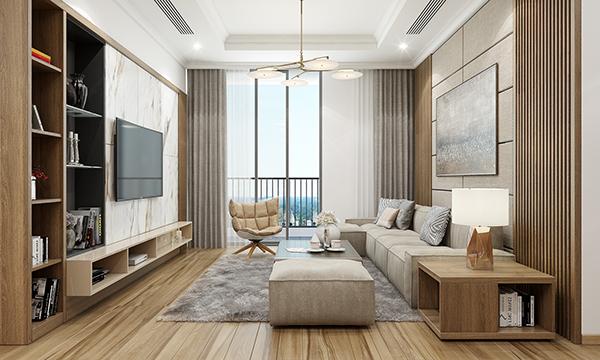 Thiết kế nội thất căn hộ 04 Park 6 –  Park Hill Times City
