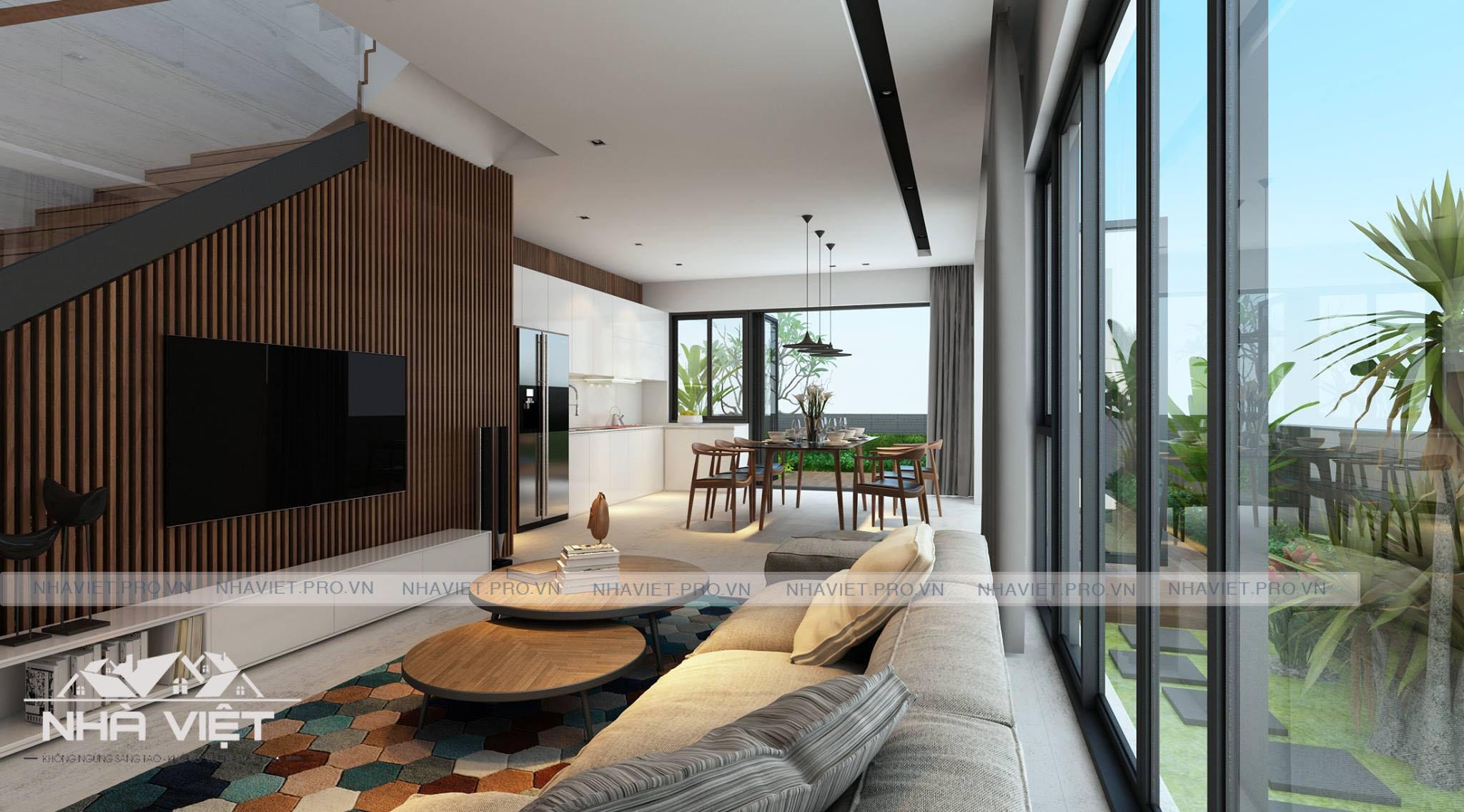 Biệt thự Vinhomes Thăng Long đẳng cấp với thiết kế hiện đại