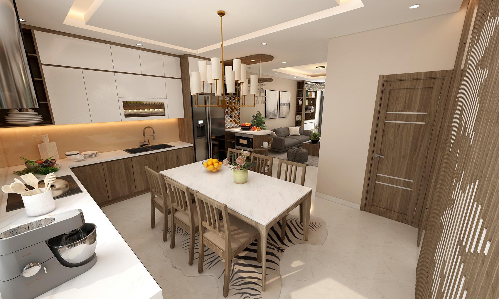 Thiết kế nội thất biệt thự Long Khánh 5 - Vinhomes Thăng Long